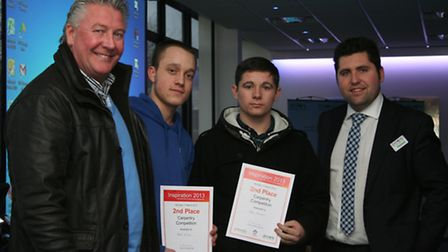 TV's Tommy Walsh, 16 year old Peter Wiles, Jack Stevens and Iain Gambardella, Economic Regeneration