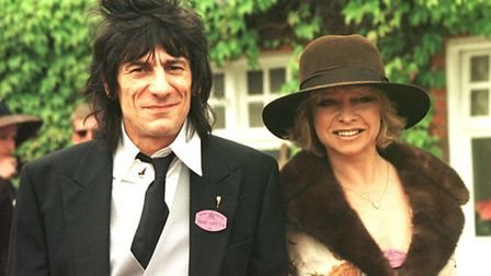 Ronnie and Jo, when they were still a couple, on the second day of Royal Ascot. Picture: Sean Dempse