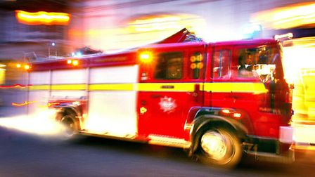 Fire crews were called to a collision on the M25.