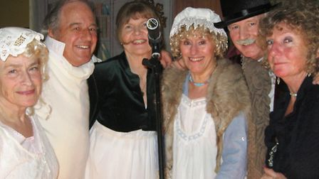 Judith Finn, Andrew Kaye, Poppy Donnelly, Peneolpe and Roy Tyzack, and Margaret Attwood at the Naves