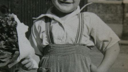 Joe Leslie as a youngster