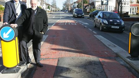Cllrs Ashley Kissin and Alan Weinberg had pushed for the metal bollards to be replaced with plastic