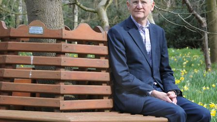Ian sparks, the departing chairman of Haven House Children's Hospice