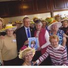Members of the Collier Row Townswomens guild with MP Andrew Rosindell