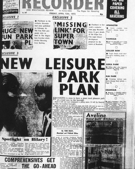 Romford and Hornchurch Recorder April 13, 1973