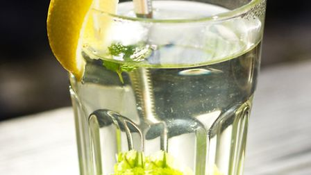 Drink a glass with lemon juice in the morning to provide an alkaline balance in the body, break down