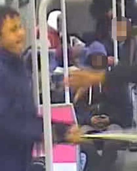 Do you know this man? Contact British Transport Police on 0800 405040 quoting B4/LNA of 04/04/2013.
