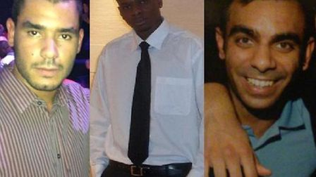 Grant Cameron, Karl Williams, and Suneet Jeerh are being held in Dubai on drugs charges