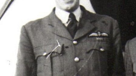 Flight Lieutenant John Mungo-Park died after his plane crashed in the Channel. Picture: Richard Smit