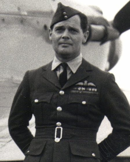 Douglas Bader is remembered in Bader Way. Picture: Richard Smith