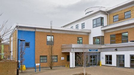 Fire boke out at the East Ham Care Centre on Thursday.
