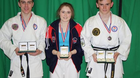 A team of seven young people from Hornchurch walked away with ten medals from the British Ju Jitsu C