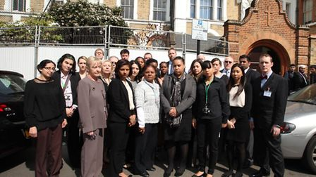 Teachers at St Angela's Ursuline are furious at Newham council for a 66% increment in the parking pe