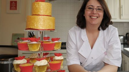 Suzanne runs her own cake business Pat-a-cake Parties. She makes cakes for all occasions. Suzanne in
