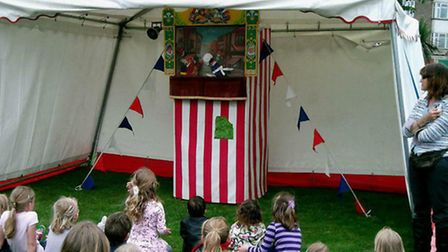 The Punch and Judy show is always one of the highlights of the Upminster Park Fun day.