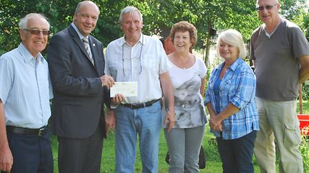 Last year, Grey Towers Allotment & Gardening Society received £3,000 which they are going to use to