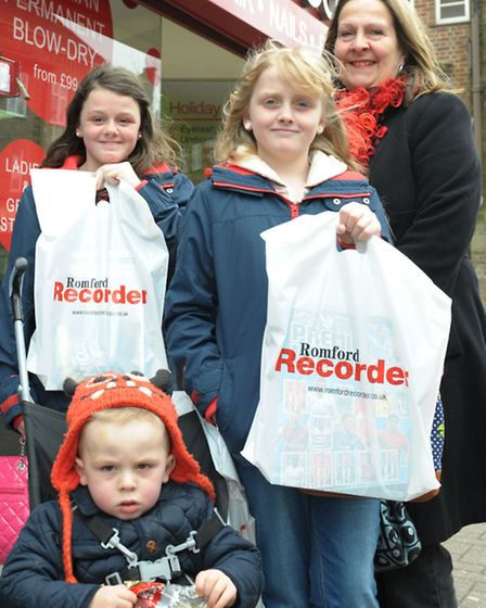 The Romford Recorder launches its Shop Local campaign in Elm Park. The Recorder speaks to business o