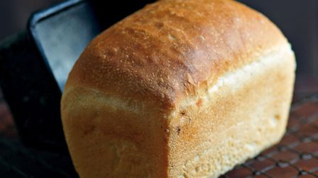 Simple white bread, from How To Make Bread: Step-By-Step Recipes for Yeasted Breads, Sourdoughs, Sod