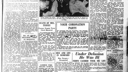 The Recorder front page, April 17, 1953