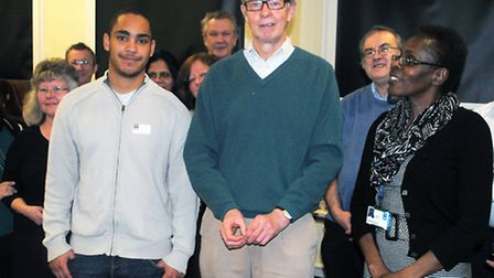 Charles Carter, aged 71, who is retiring after 40 years with students and colleagues