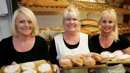 Catherine Thompson, Debbie Smith and Cheryl Windsor-Smith from Godfrey's of Hornchurch