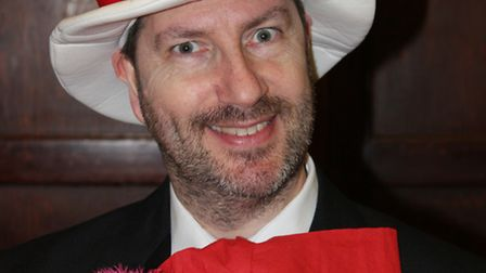The Cat in the Hat played by Richard Sheepwash.