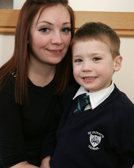 Laura Kellegher, is raising money for treatment for her son with rare eye condition,she needs 10,00