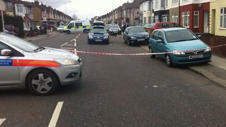 The collision happened in Green Lane between a car and motorbike