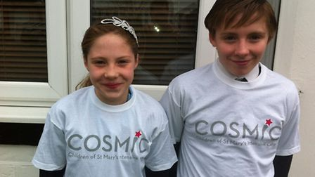 Molly and Oliver Bath will be raising money for the hospital that helped Molly recover from a seriou