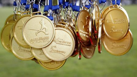 Medals up for grabs at the East London Half Marathon and Newham College 10k Run.