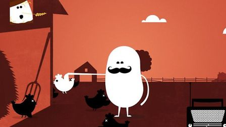 Animator Sean Sears used his talents to create an animated film called Zombie Chicks, to raise funds