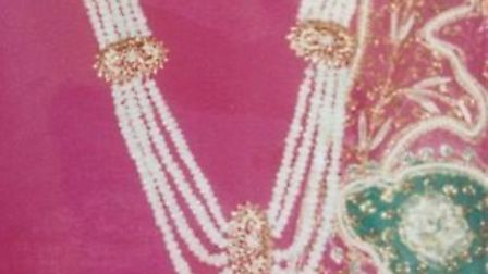 One of the pieces of jewellery stolen from Wessex Close, Ilford