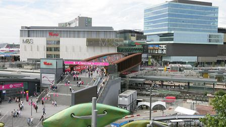 Views of Westfield shopping centre