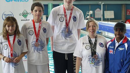 Dan Gorsuch won diving gold for Havering, who added team bronze at their London Youth Games finals