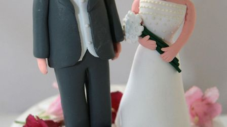 You can get wedding ideas at the Liberty Wedding Fayre this weekend. Picture PA.