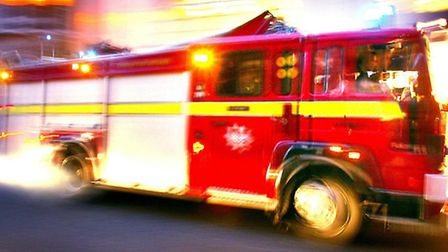Firefighters, police and paramedics were called following the crash