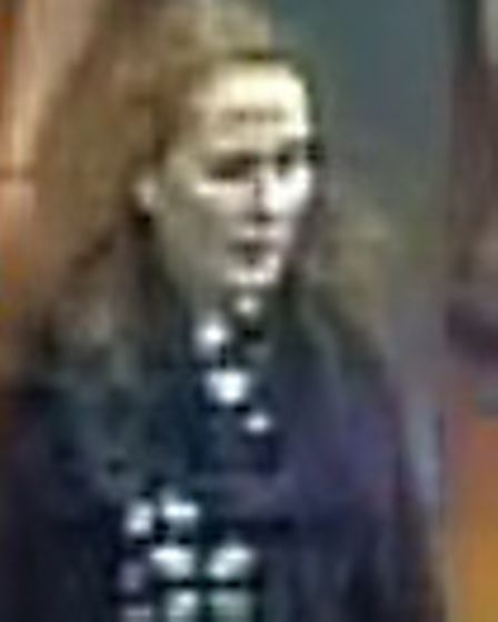 Police are looking for these people in connection with an assaut on a Brentwood-bound train.