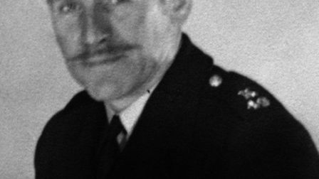 Police sergeant Frederick George Hutchins, one of the two policemen killed by a gunman in west Ham,
