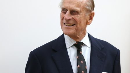 The Duke of Edinburgh, who is visiting Royal Victoria Dock on Wednesday