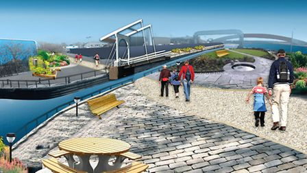 Artist impression of how Cody Dock will look