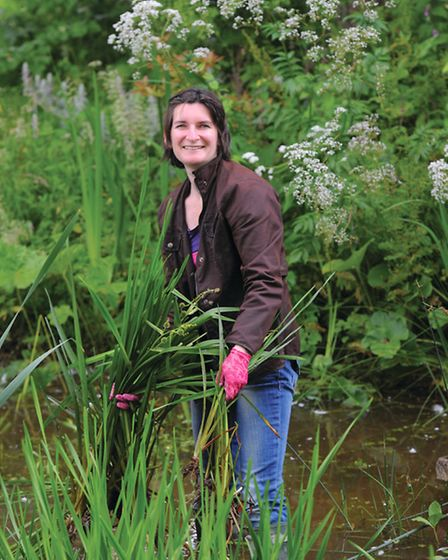 Tamsin Westhorpe explains how to create the perfect flower garden. Picture: Howard Walker