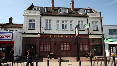 The Railway Tavern in Forest Lane.