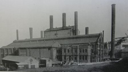 The old power station in Canning Town