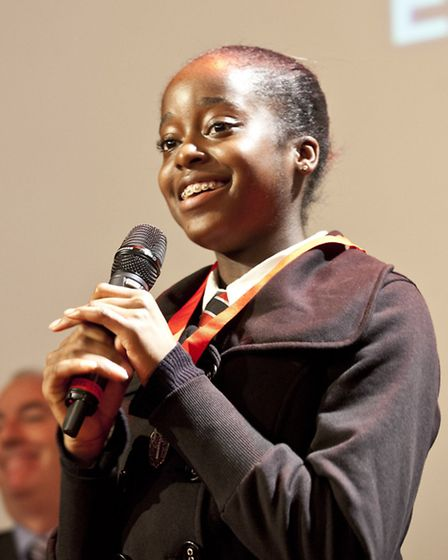 Rebekah Dike, 14, is the new Young Mayor of Newham. Picture: Andrew Baker