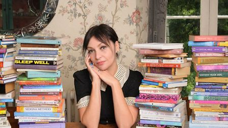 Pearl Lowe, who takes hair supplement Viviscal. Picture: PA Photo/Handout.