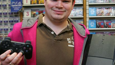 Game store manager Steve Walker organised and evening of competitions and prizes