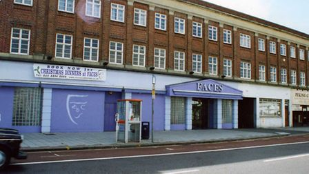 Faces nightclub pictured a number of years ago.