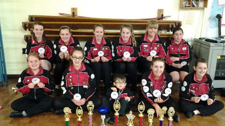 Upminster Majorettes won four competitions at the UKFM National Majorette finals.