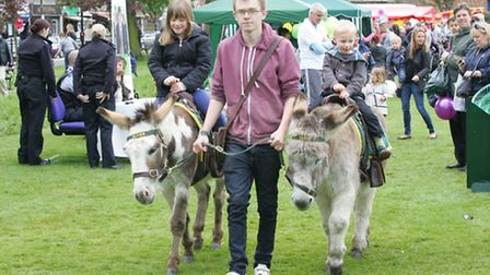 The fun day had Donkey rides for the youngsters