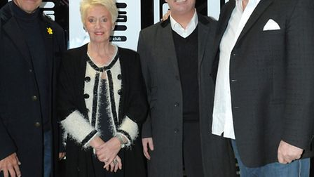 Faces Nightclub is celebrating its 20th Birthday. L to R Joint director, Tony Bee, Club secretary,
